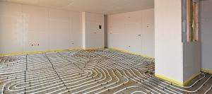Die Fußbodenheizung als energiesparende Heizalternative