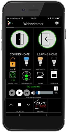 Nuki iPhone-App © ihaus.com / iHaus